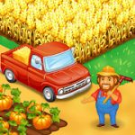 Farm Town Happy farming Day & food farm game City mod apk (endless diamonds and gold) v3.41